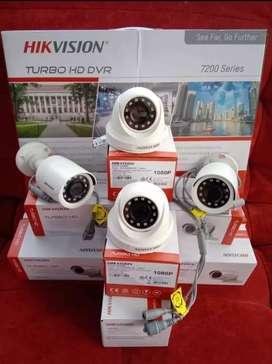 Alat keamanan dan keselamatan Kamera cctv  siap pasang