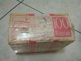 Uang Kertas Rp.100,- TE 1992