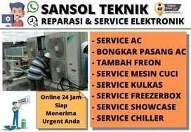 Service AC SERVIS Kulkas Freezer Mesin Cuci Candi Sidoarjo
