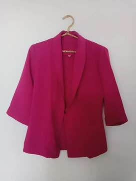 Pink Blazer 3/4