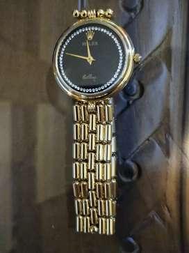 Jam tangan Klasik Rolex Cellini gold.