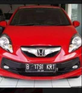 Honda brio E vtec manual 2015 Merah