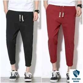 New trendy mens double track pants