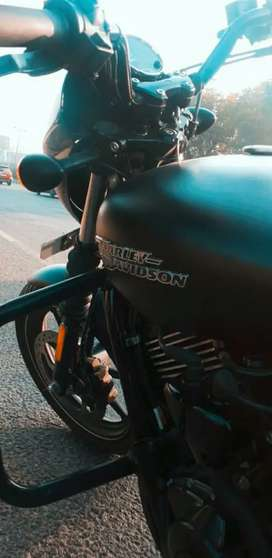 Less Driven Harley devidson street750 , in Brand new condition
