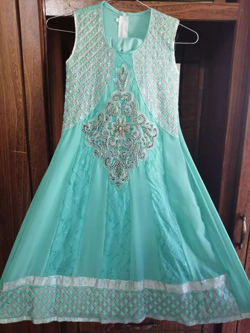 Beautiful Frock in blue color 0