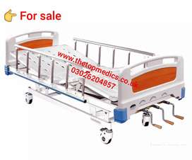 Hospital Bed Comfortable Medical Hospital 3 Functions Manual Bed