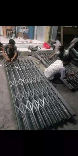 Tukang servis rolling door foldinggat dan spesialis atap canopi