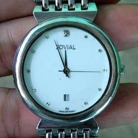 Jam Tangan Bekas Jovial Swiss Made Original