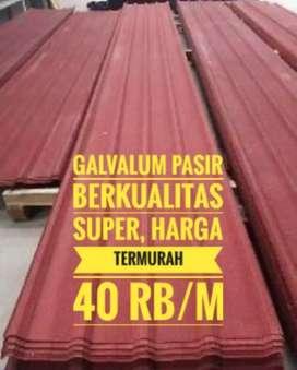 Super Promo Galv pasir n Gtg metal pasir, harga termurah, 40 rb,/m,