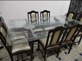 Dinning With 8 Chairs