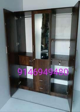 New 3 door Almari Almirah Factory Sale LIMITED PERIOD OFFER!!!