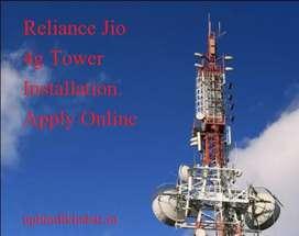 Reliance Jio tower installation