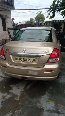 Swift dzire in a very good condition top model petrol version..