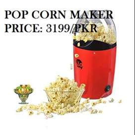 Pop Corn Maker cones, bags, flossugar, flossine, and greater. There is