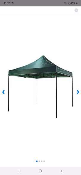 Tenda kerucut di Malang