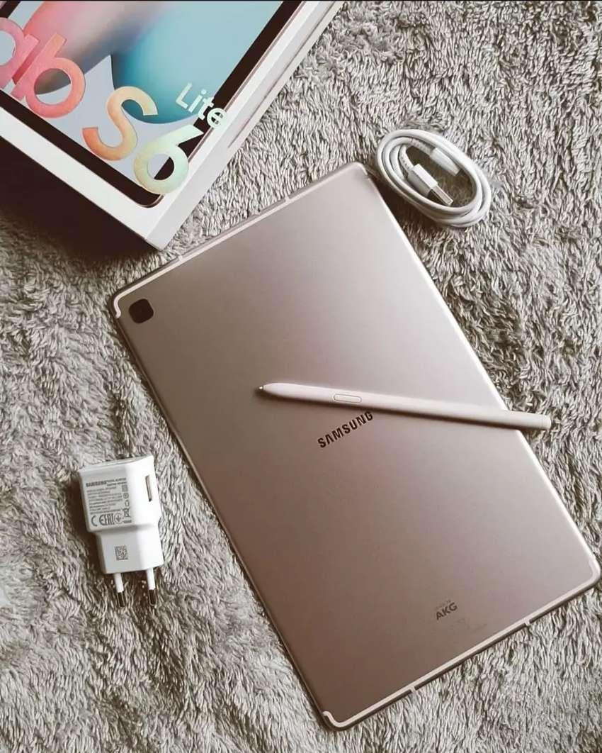 SAMSUNG GALAXY TAB S6 LITE 64GB GARANSI RESMI BISA COD