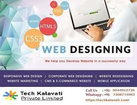 Website design and app development