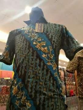 Promo batik ukuran m lengan pendek kekinian
