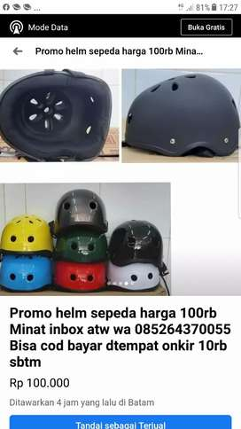Promo helm sepeda 100rb