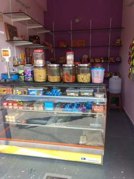 Recently opened bakery shop