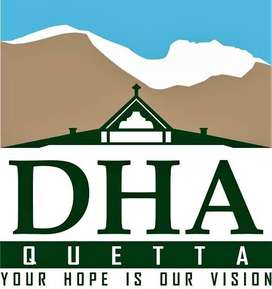Commercial plot for sale in DHA Quetta, Balochistan