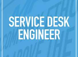 Looking for Service desk operater