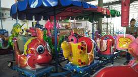 pabrik mainan odong kereta panggung tayo lengkap aki UK