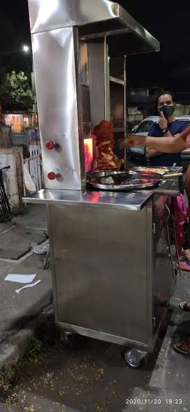 Shwarma Stall on rent ..200 daily