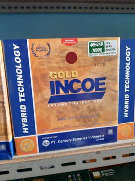 incoe gold astra type ns60 12v 45Ah