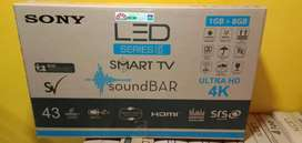 """Booking Start new SONY 43"""" Smart Android"""