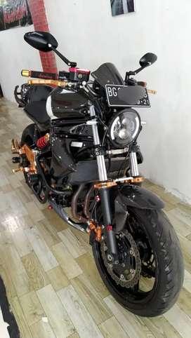 Kawasaki ER6N 2014 full modif