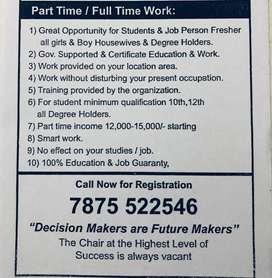 par time full time work