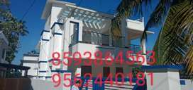 8 cent plot  with 3000 Sq. Ft 5 BHK  house in karicode