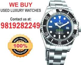 Wanted Rolex Omega Cartier Patek Luxury Pre Owned WATCH Buyer