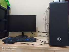 Dijual PC GAMING KOMPLIT (RYZEN 5, RADEON RX 580, 16GB RAM)
