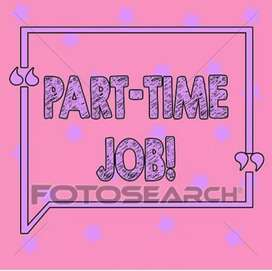 JOB VACANCY FOR ALL FRESHERS PART TIME HOME BASED