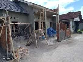 Dijual rumah murah proses bangun dekat Prambanan