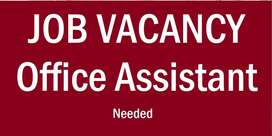 Wanted - Office Assistant