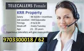 wanted female(Lady) tele callers only in Gajuwaka