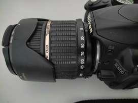 Jual murah kamera DSLR Nikon + Lensa 18-200