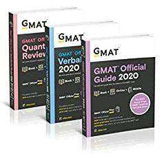 GMAT OFFICIAL GUIDE 2020 LATEST VERSION UNUSED