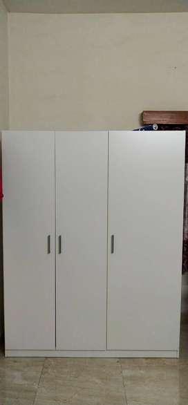 Ikea 3doors wardrobe immediate for sale