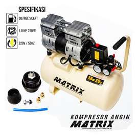 MATRIX 1 HP 25 Liter OIL LESS AIR COMPRESSOR - KOMPRESOR ANGIN 25liter