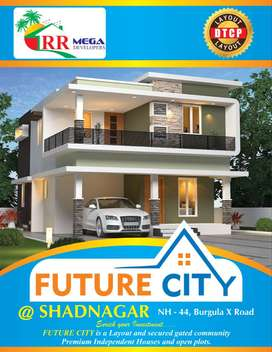 Best Opportunity Open plots for sale at Shadnagar with Booked Now