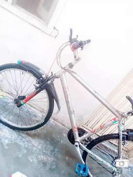 All is one wheeling bicycle Honda company