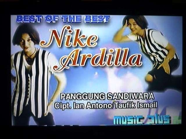 VCD Best of The Best Nike Ardilla 0