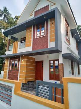 3 bhk 1400 sqft 3.5 cent new build house at pukattupay town 200 mtr
