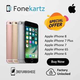 Apple iPhone Refurbished 8, 7 Plus, 7, 6s & 6 Discount Offer