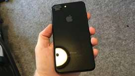 Iphone 7 plus 128 gb gloss black