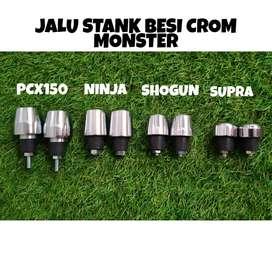 Jalu stang standard crome barang baru pcx ninja shogun supra